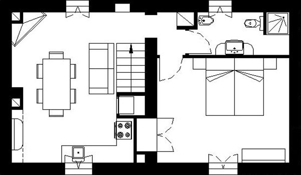 Holiday apartment in Tuscany, Le Acacie