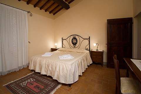 Holiday apartment in Tuscany, La Loggia